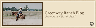 Greenway Ranch Blog�@�O���[���E�F�C�����` �u���O